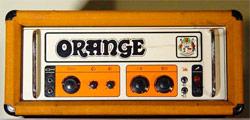 Amplificatore x chitarra elettrica Orange.