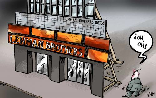 Il crollo della Lehman Brothers Bank