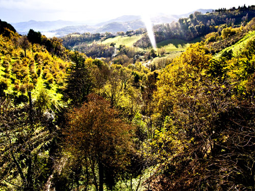 Mercatale, Urbino, autunno 2010