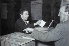 Diritto al voto delle donne.