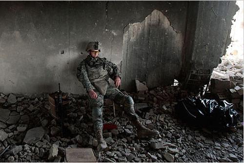 """""""Exhauted Soldier"""" - Iraq"""