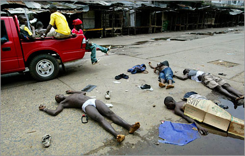 Guerra in Liberia - Foto di Chris  Hondros