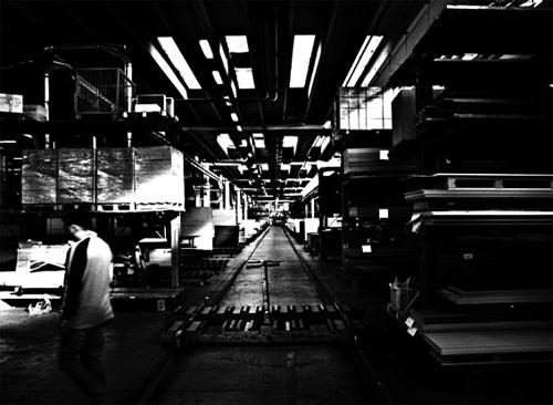 In fabbrica