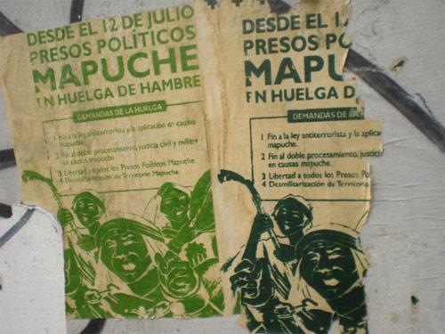 Mapuche prigionieri politici in Chile