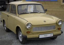 Trabant, automobile DDR