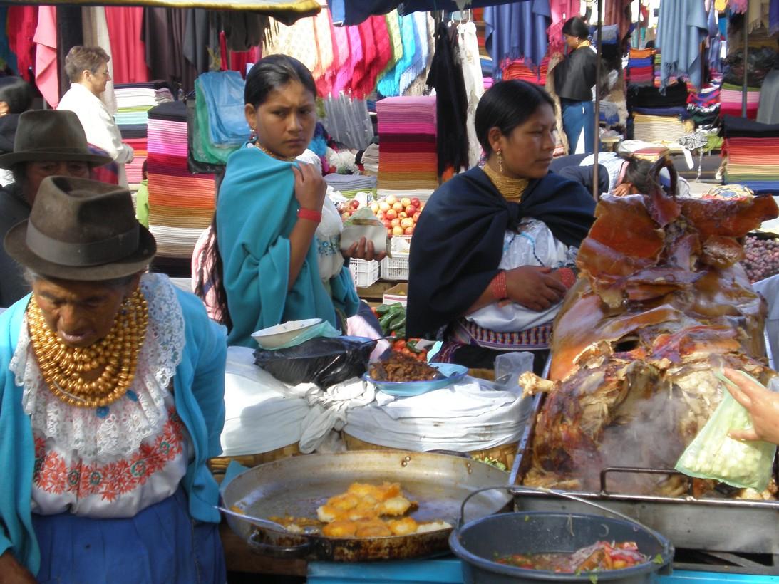 Mercado di Otavalo.