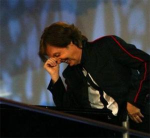 Paul Mc Cartney a Londra 2012