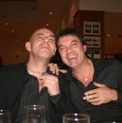 Jorge Fernando e Custodio Castelo