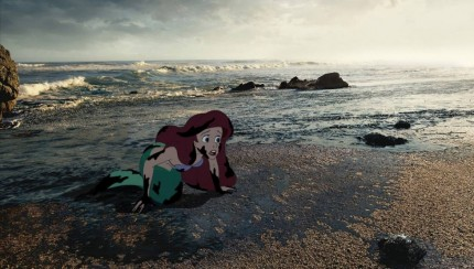 Ariel ricoperta dal petrolio
