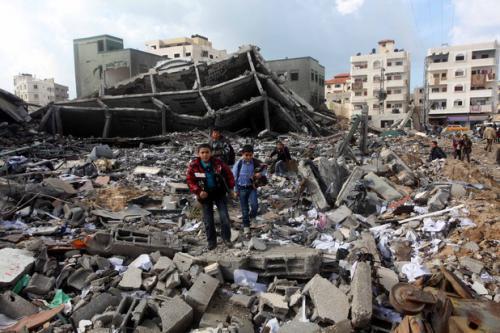 bombardamento a Gaza